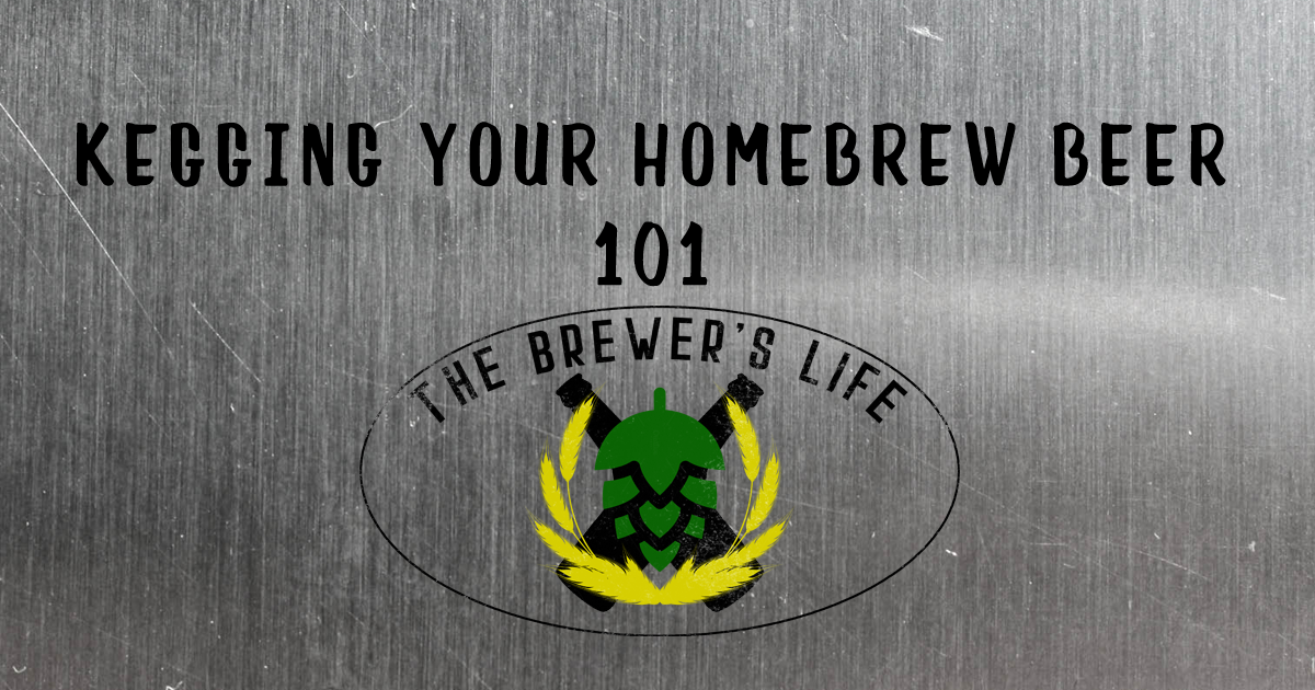 the brewers life how to keg your beer